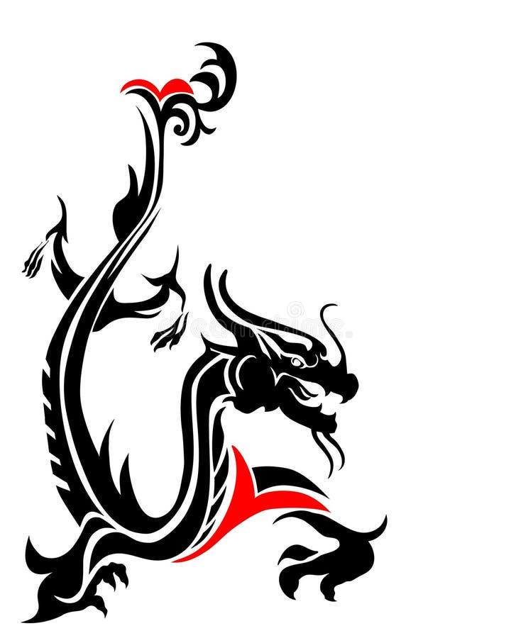 Dragón oriental libre illustration