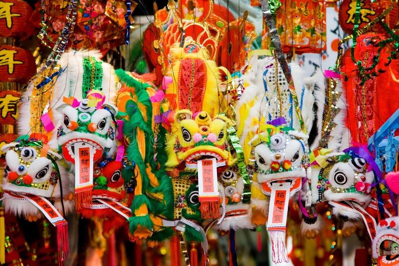 Dragões chineses imagens de stock