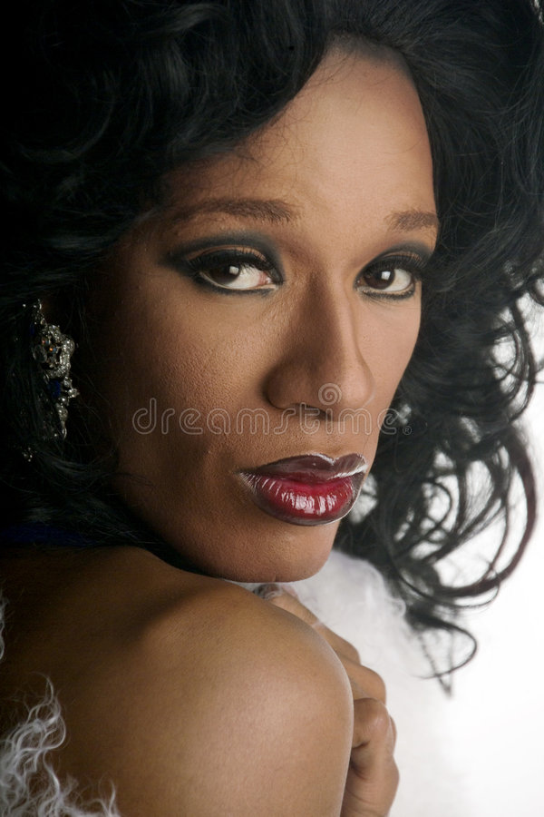 Download Drag queen 7 stock image. Image of glamour, race, dark - 225835