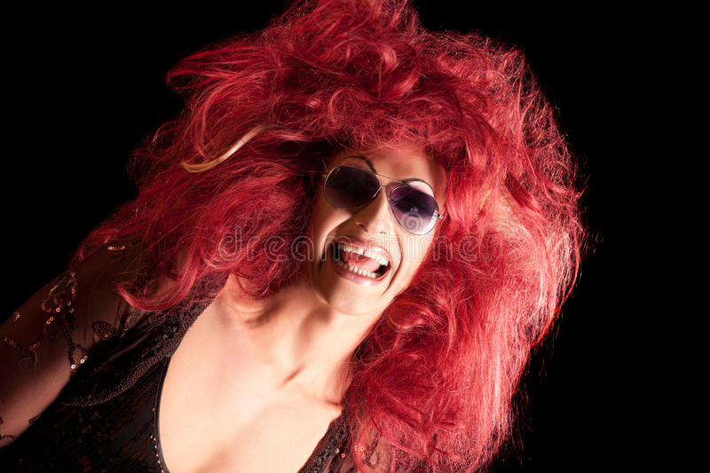 Download Drag-Queen. Man Dressed As Woman. Stock Image - Image of feminine, homosexual: 20744417