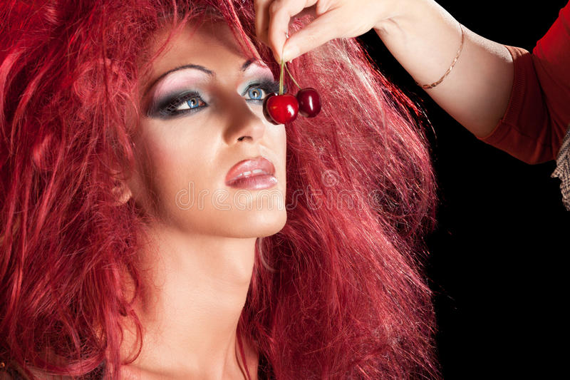 Download Drag-Queen. Man Dressed As Woman. Stock Photo - Image: 20744520