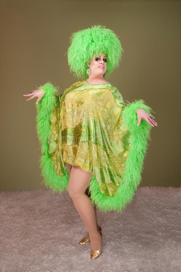 Download Drag Queen Performs stock photo. Image of earring, gender - 19782626