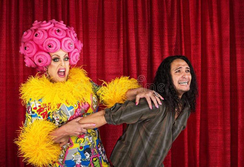 Download Drag Queen Pulling Man Stock Photos - Image: 36045933