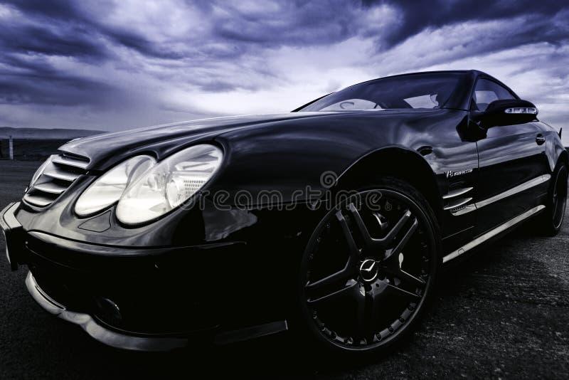 Drag Race, Mercedes Benz royalty free stock photo