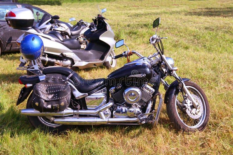 Drag Star bike stock image