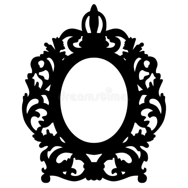 Dragen hand f?r eps f?r vektor f?r bildram, vektor, Eps, logo, symbol, crafteroks, konturillustration f?r olikt bruk royaltyfri illustrationer