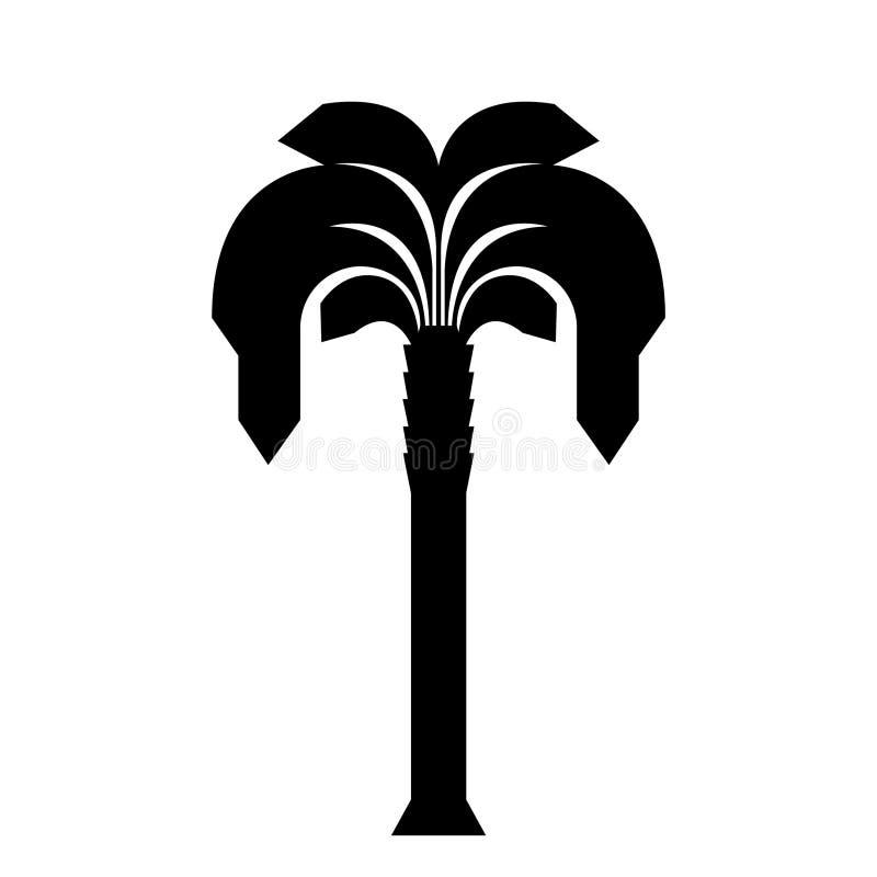 Dragen palmtr?dhand, vektor, Eps, logo, symbol, konturillustration vid crafteroks f?r olikt bruk stock illustrationer