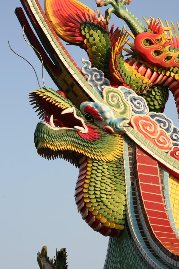 Draghi cinesi immagini stock libere da diritti