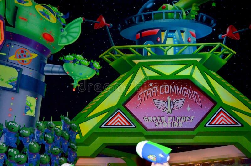 Dragning för ljust år för Disney rykte arkivbild