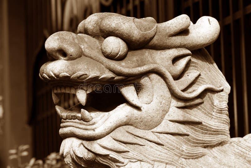 Drago asiatico immagine stock