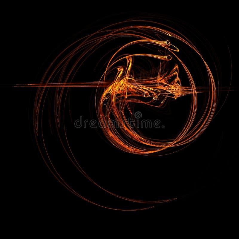 Drago del fuoco royalty illustrazione gratis