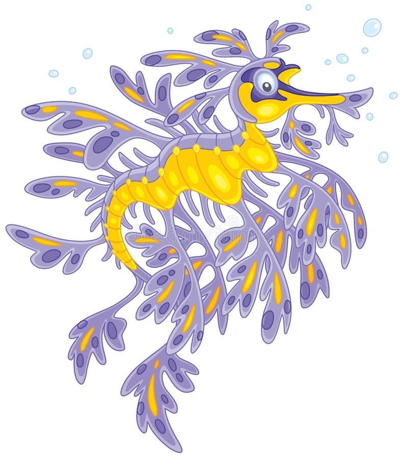 Drago frondoso del mare royalty illustrazione gratis