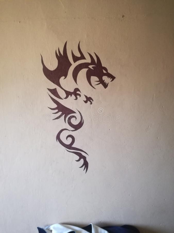Dragon images stock