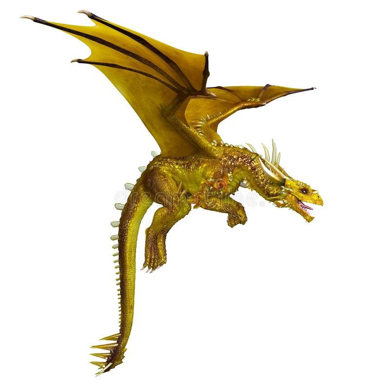 Dragon illustration stock