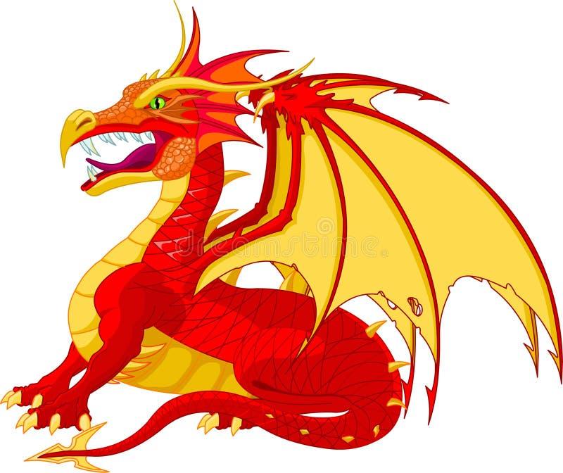 Download Dragon stock vector. Illustration of human, animal, fantasy - 14842800