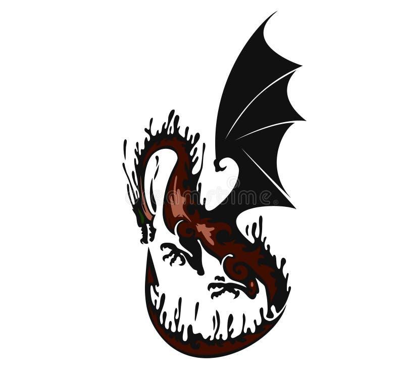 Dragon stock illustration