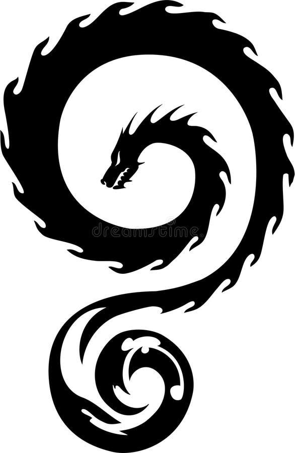 Dragon royalty free stock photography