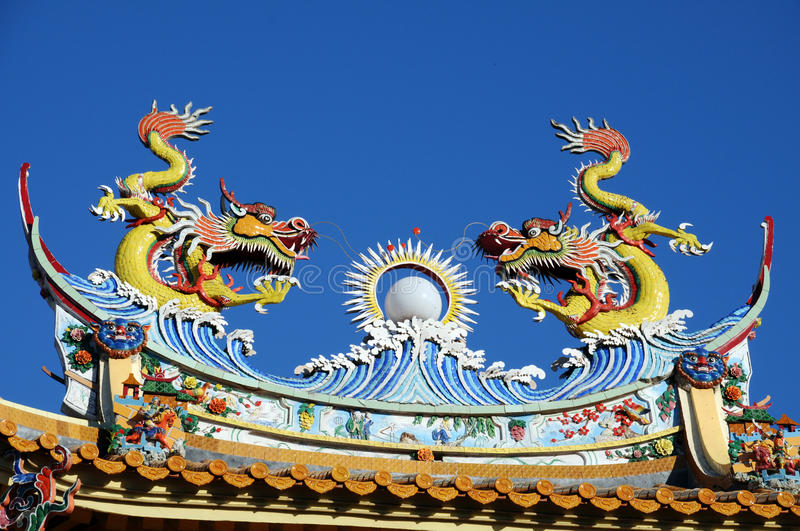 Download Dragon stock image. Image of chinese, faith, scales, temple - 24400505