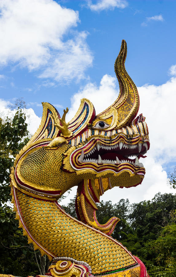 Download The dragon stock image. Image of outdoors, buddhism, faith - 26440681