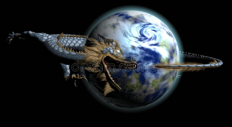 Download Dragon stock illustration. Image of graphic, creature - 4962458