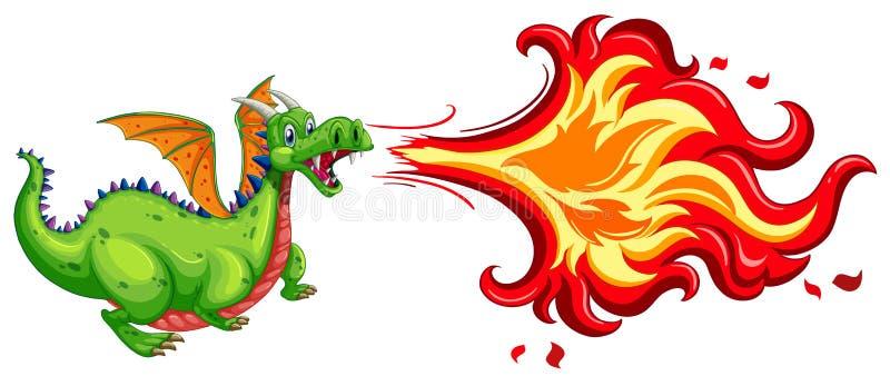Dragon illustration libre de droits