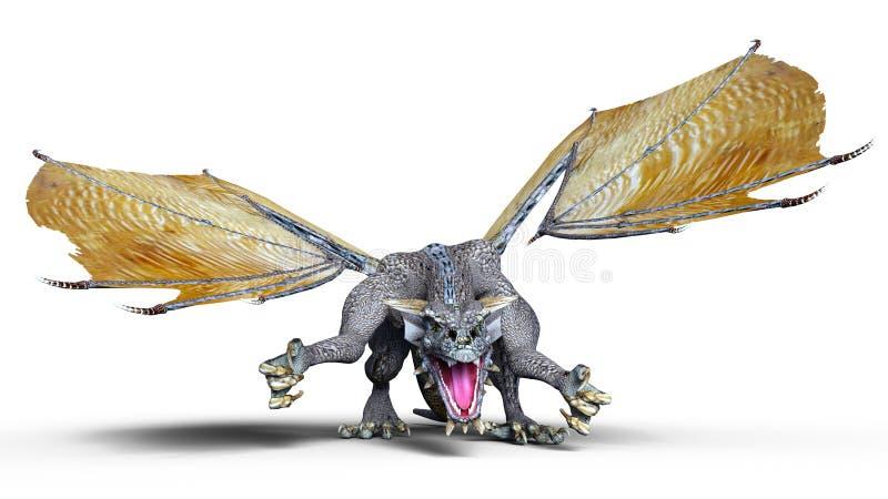 Dragon illustration de vecteur