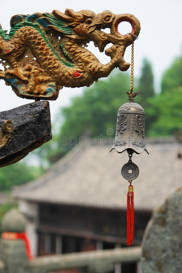 Dragon Bell royalty free stock image