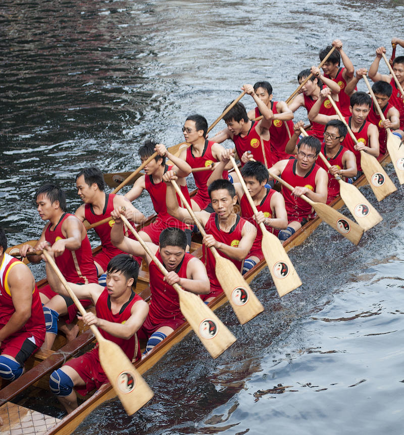 Download Dragon Boat editorial stock image. Image of competition - 14862419