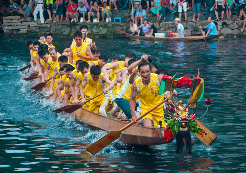 Dragon Boat stockbilder