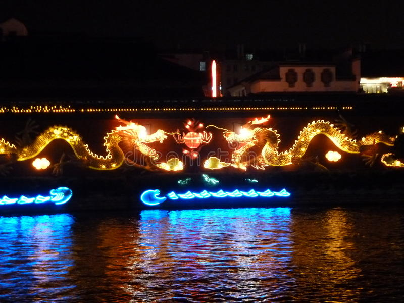Dragon Boat arkivbilder