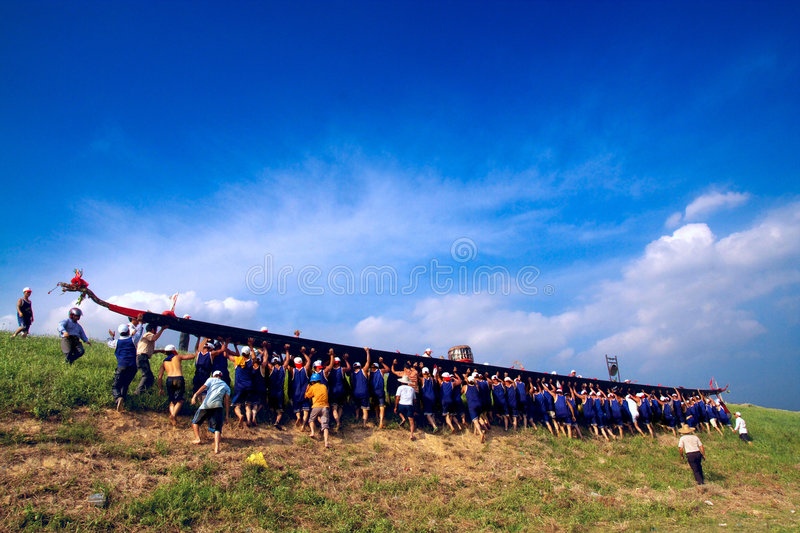 Download Dragon boat editorial stock photo. Image of south, traditional - 7643153