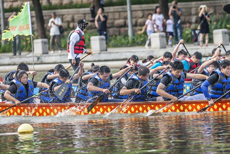 Dragon Boat Festival Competition - Dragon Boat Race tradicionais fotos de stock royalty free