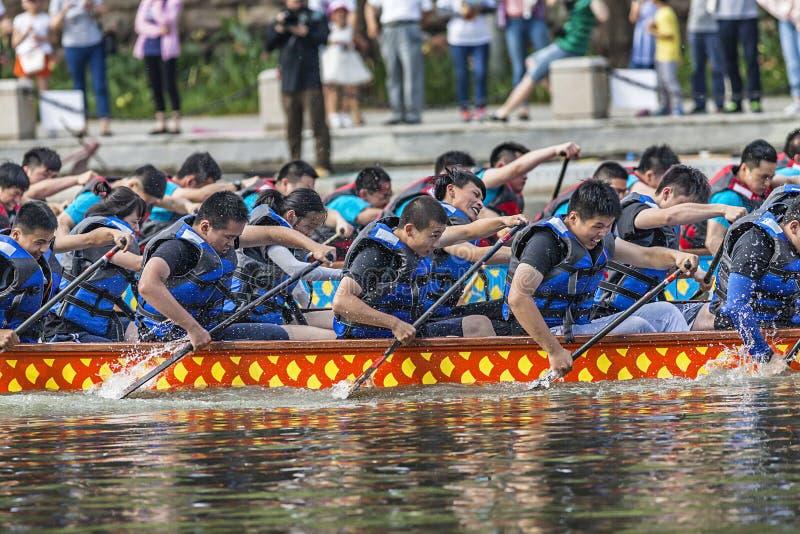 Dragon Boat Festival Competition - Dragon Boat Race tradicionais imagens de stock royalty free