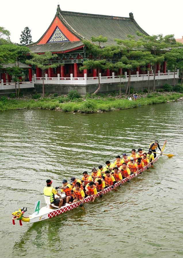 Dragon Boat Festival 2014 en Gaoxiong, Taiwán imagenes de archivo