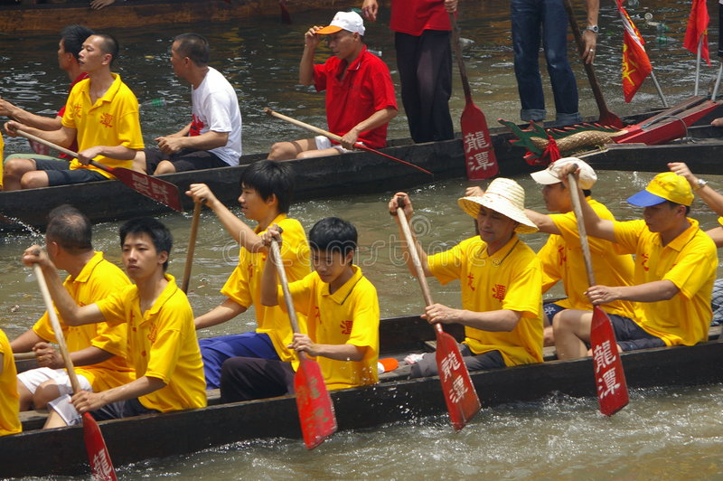 Download Dragon boat in Guangzhou editorial photo. Image of winner - 5423191