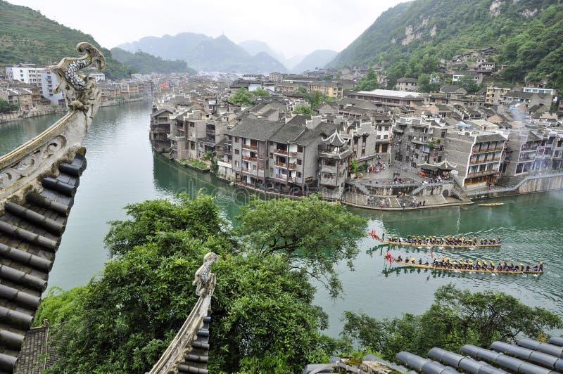 Dragon Boat Race immagini stock libere da diritti