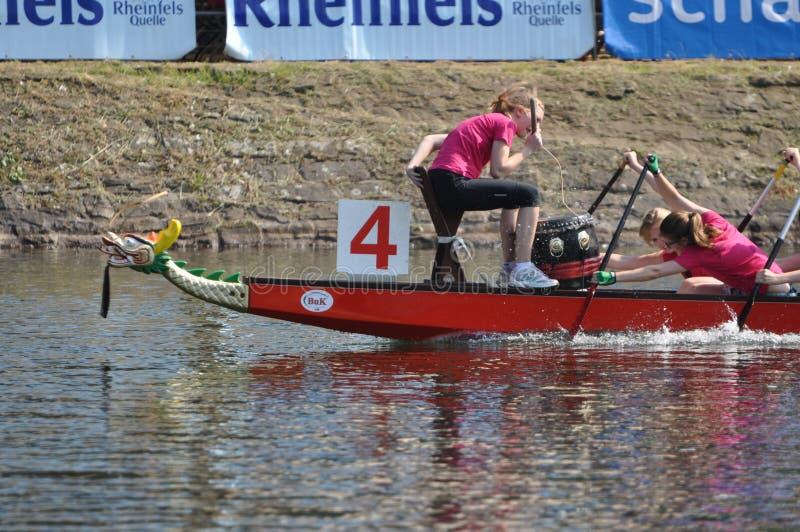 Dragon Boat Race foto de stock