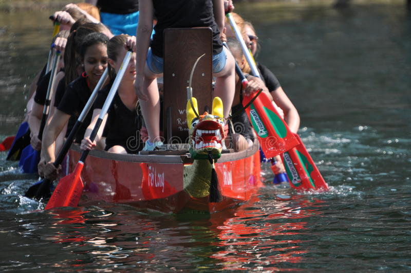 Dragon Boat Race foto de stock