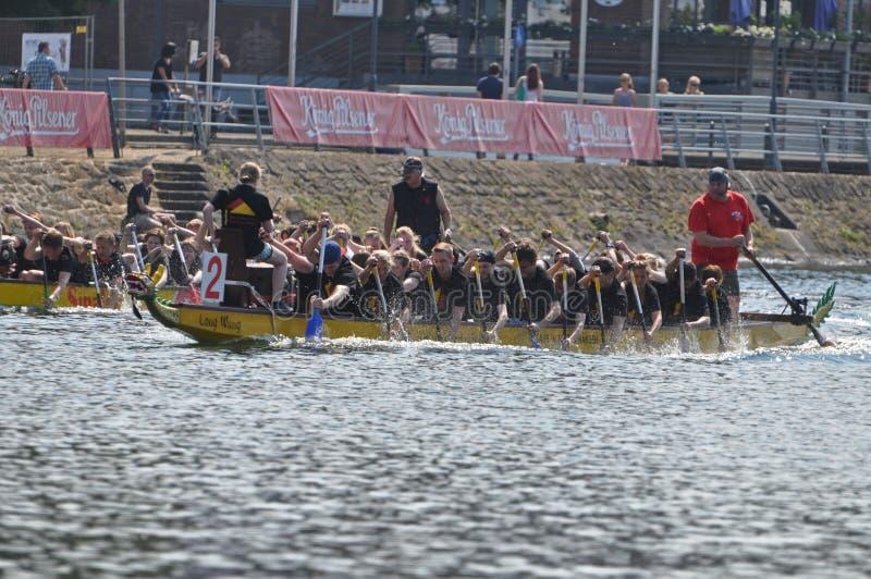 Dragon Boat Race imagens de stock royalty free