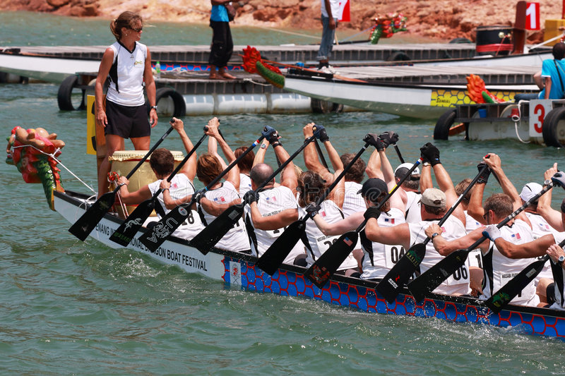 Download Dragon Boat Race Editorial Stock Photo - Image: 5978693
