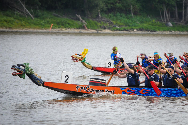 Dragon Boat Race royalty-vrije stock foto