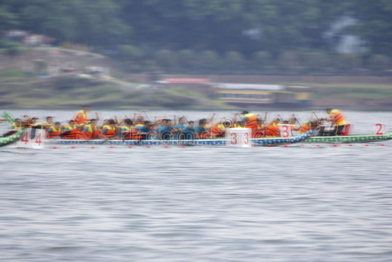 Dragon Boat Race photo libre de droits