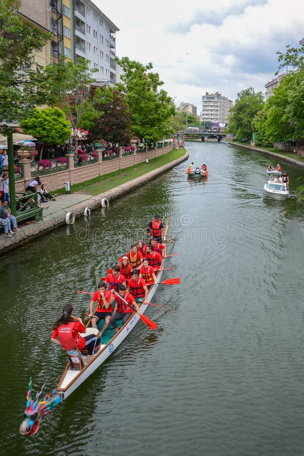Dragon Boat Race foto de stock royalty free