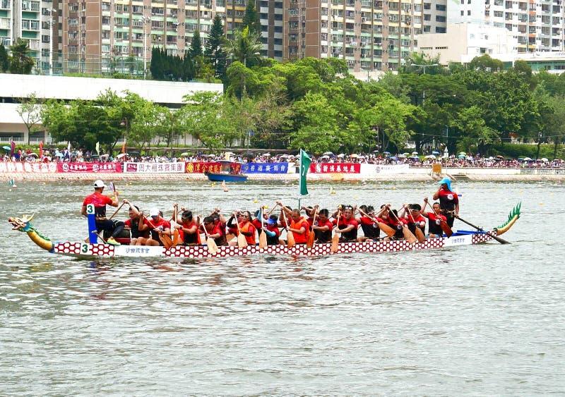 Dragon Boat Racing fotos de stock royalty free