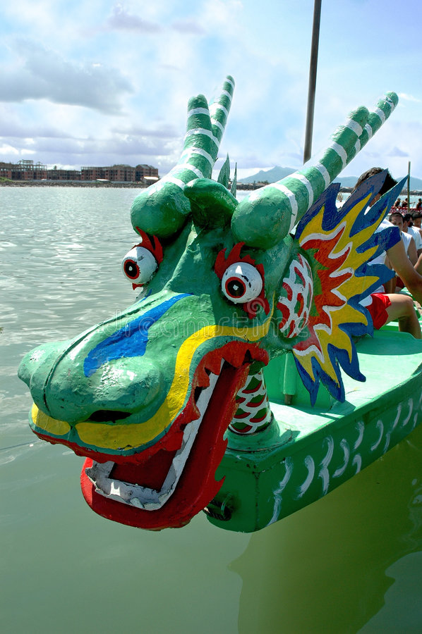 Dragon Boat Racing Royalty Free Stock Images