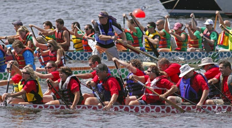 Download Dragon Boat Teams Race Editorial Photo - Image: 15804996