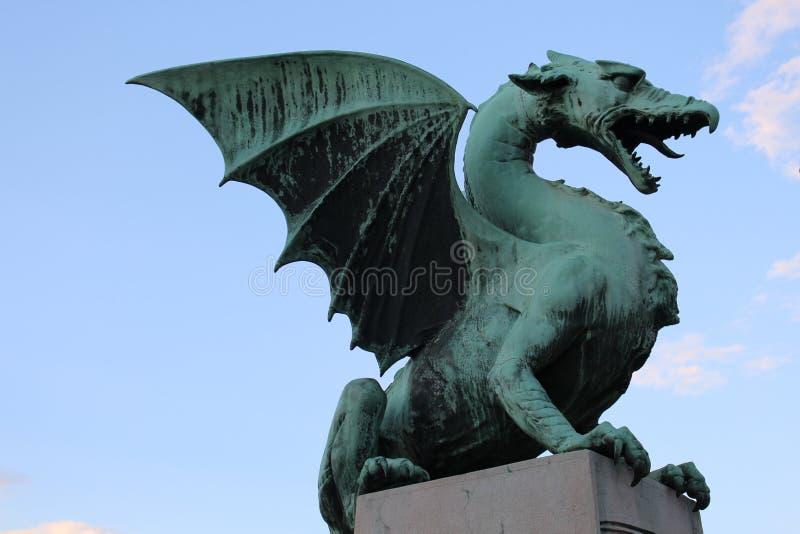 Dragon Bridge stockfoto