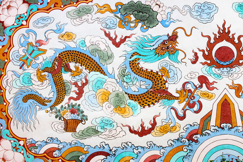 Dragon Capricorn royalty free stock photography