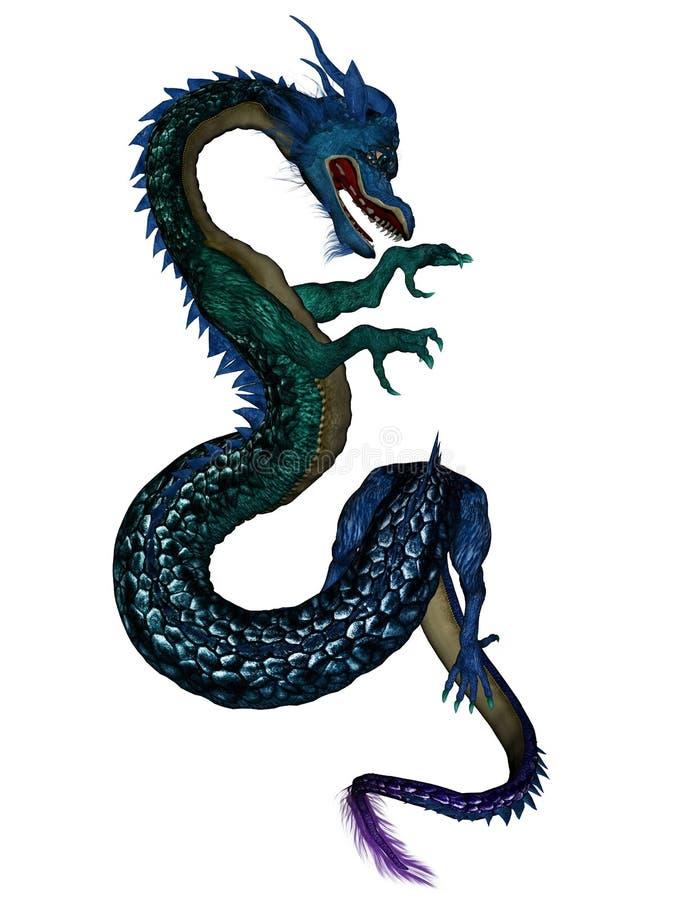 Dragon chinois illustration stock