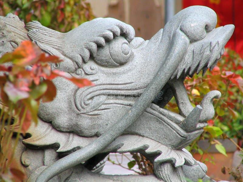 Dragon chinois réel photos libres de droits
